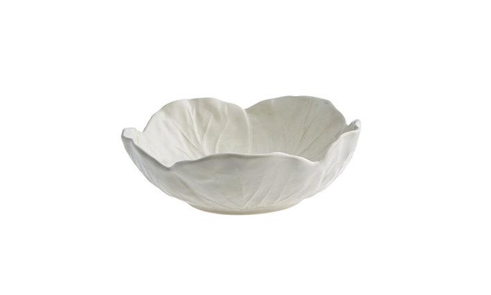 CABBAGE - Medium Bowl 17cm White