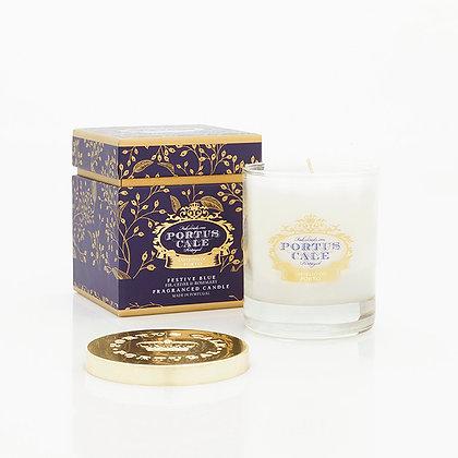 FESTIVE BLUE - 228g Candle