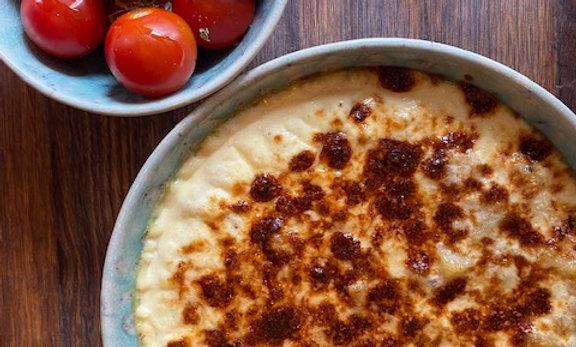 CREAMY CODFISH ('bacalhau com natas') for 2 PAX