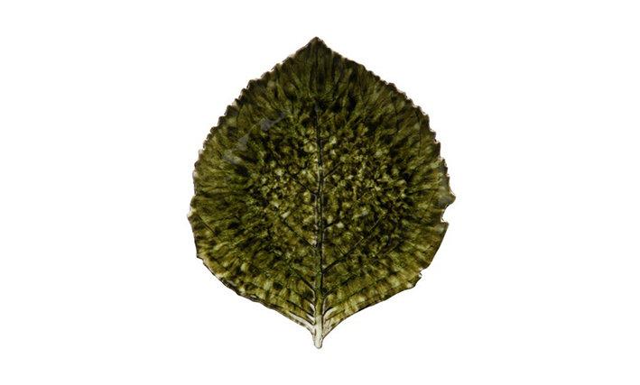 RIVIERA - Hydrangea Leaf Side Plate Foret