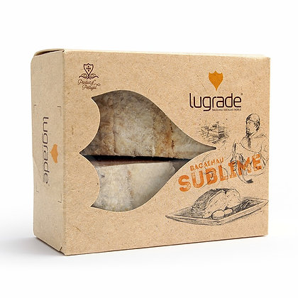 COD FISH DRY SALTED CUT PACKED LOINS ATN SUBLIME LUGRADE 1KG