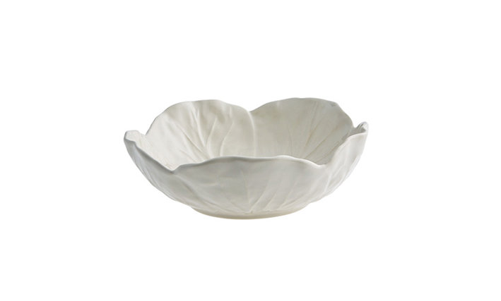 17.5cm White Cabbage Bowl
