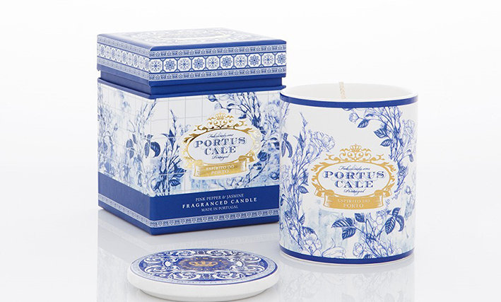 GOLD & BLUE - 228g Candle