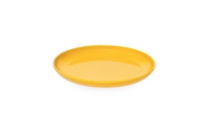 DESSERT PLATE - Yellow Melamine