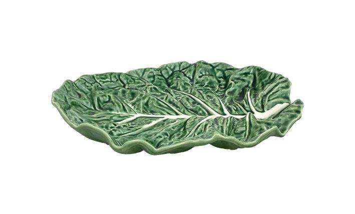 Green Cabbage Fruit Bowl Leaf