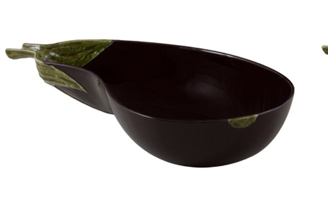 AUBERGINE - Salad bowl