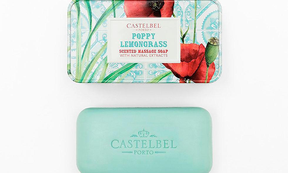 SMOOTHIE POPPY LEMONGRASS - 180g Massage Soap