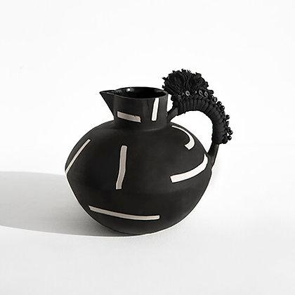 Black Round Jug