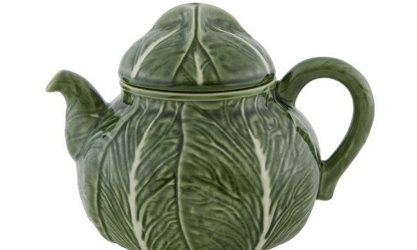 Green Cabbage Teapot