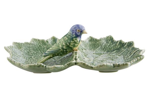 LEAF with BLUE BIRD
