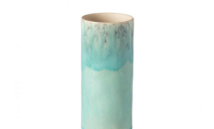MADEIRA - Blue Small Cylinder Vase