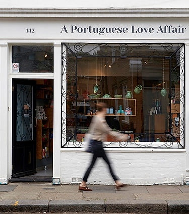 A Portuguese Love Affair shop on Columbia Road