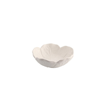 CABBAGE - Small Bowl 12 cm White