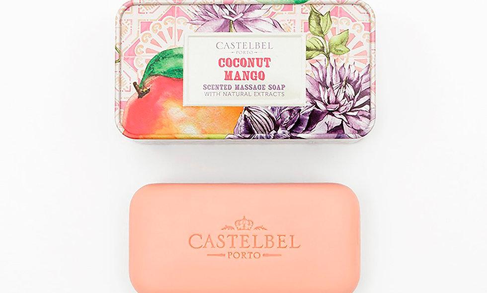 SMOOTHIE COCONUT MANGO - 180g Massage Soap