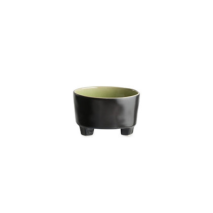 RIVIERA - Footed Soup Bowl Vert