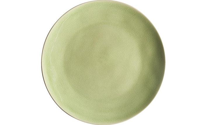 RIVIERA - Dinner plate Vert