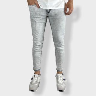 Jeans grigio lavato semplice skinny €25