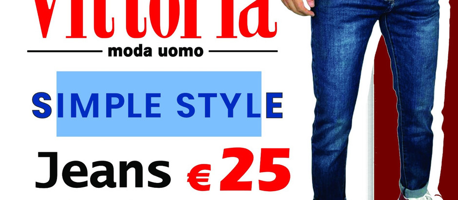 Jeans €25