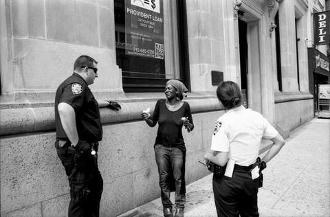 Homeless Woman Talks To Police NYC281 IG
