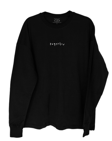 Together-lone Merhanise Long-Sleeve Shirt in Black