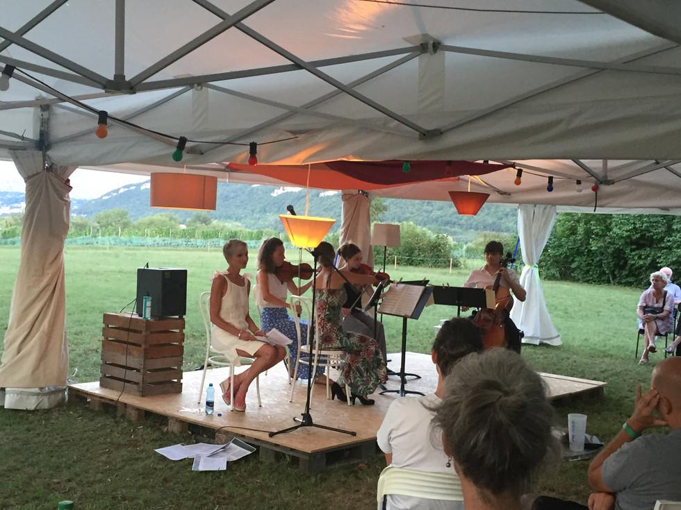 Quatuor Arteo & Caroline Gasser