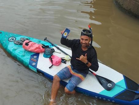 ภารกิจค้นหาโทรศัพท์ในแม่น้ำ