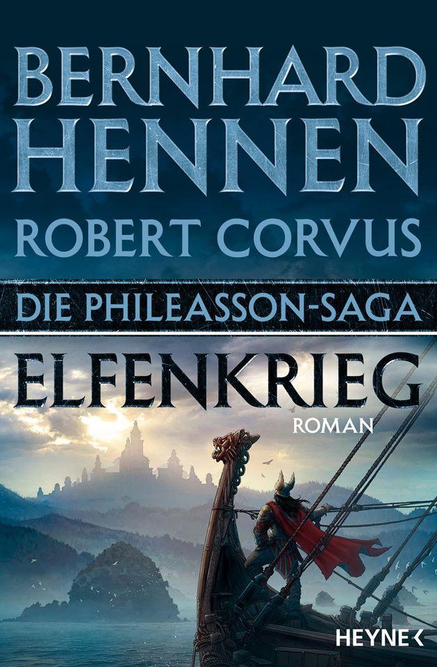 "Buchcover ""Elfenkrieg"""