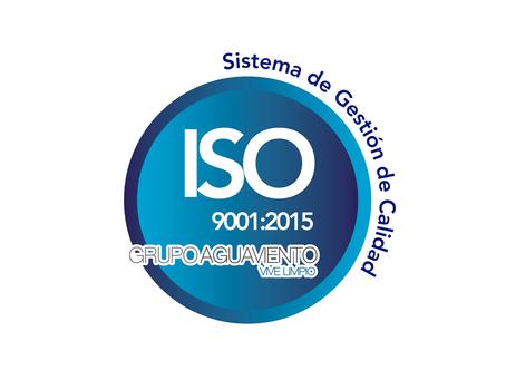 Aguaviento certificado en ISO 9001: 2015