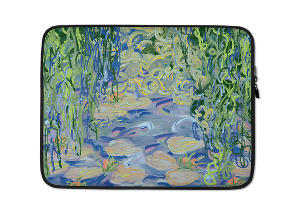 """""""Water Lily"""" 00.5 Laptop Sleeve"""