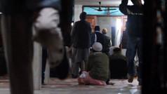 Outside a Mosque