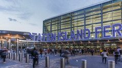 Going Home: Staten Island Ferry Terminal