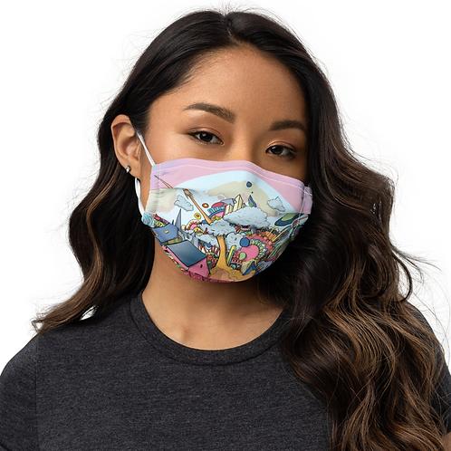 Doodleville mask