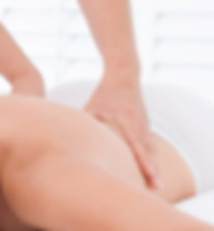 Person giving a remedial massage
