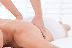 Person recieving a massage spa service