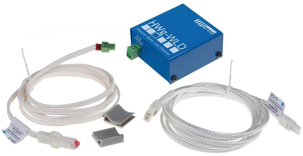 WLD: Water leak detector for a 2D area