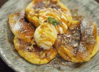 塩バターキャラメルバナナパンケーキ