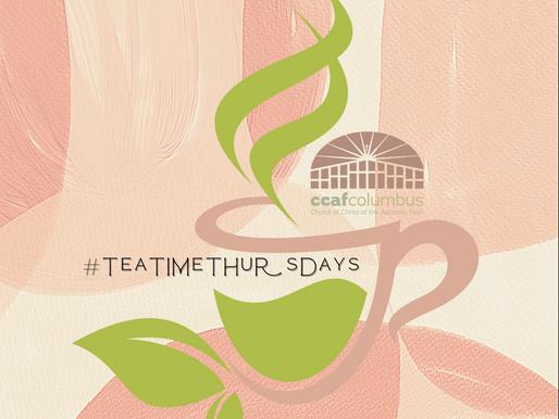 #TeaTimeThursdays
