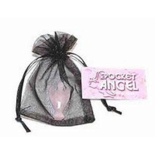 Rose Quartz Pocket Angel Inc Pouch