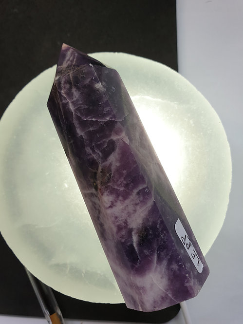 Lepidolite Polished Point 96.4mm X 24.8mm