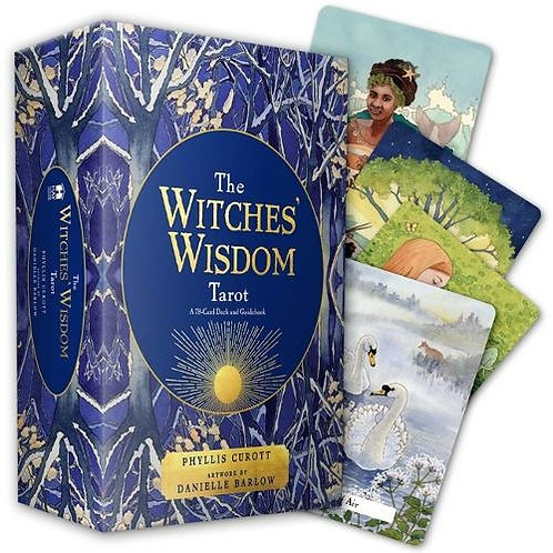Witches Wisdom Tarot Set: Phyllis Curott and  Danielle Barlow