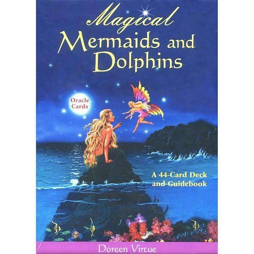 Magical Mermaids and Dolphins Oracle Cards by Doreen Virtue: Free Delivery