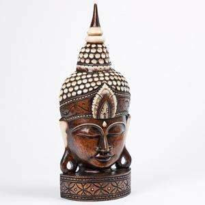 Stunning Large Buddhas Head 76cm High (Free UK Delivery)