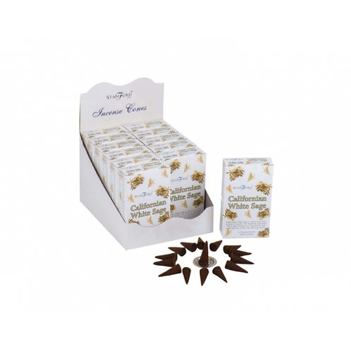 Stamford Californian White Sage Incense Cones