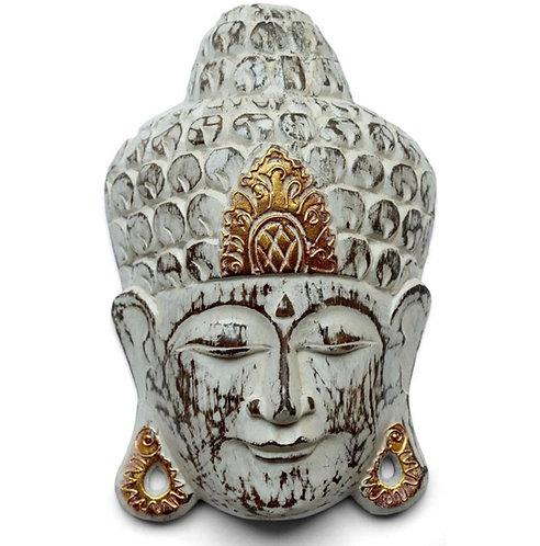 Beautiful Carved Buddha Mask Wood