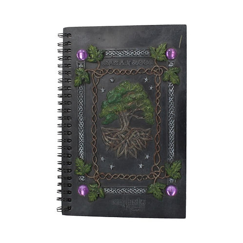 Tree of Life Journal Dream Book With Resin Cover (21cm)