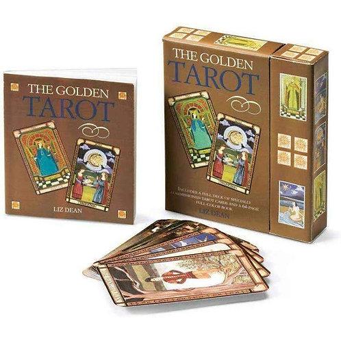 GOLDEN TAROT Liz Dean 78 Cards Free Postage