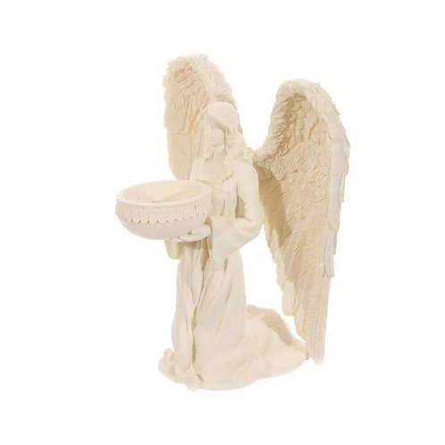 Angel Tealight Holder - Kneeling 18cm