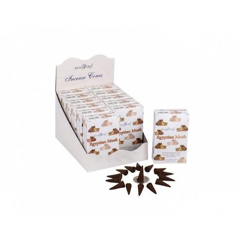 Stamford Incense Cones [E-R] - Box of 12