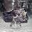 Thumbnail: Chevron Amethyst Carved Dragon Head