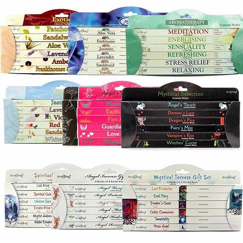 Stamford Incense Gift Set Selection Packs - Box of 6